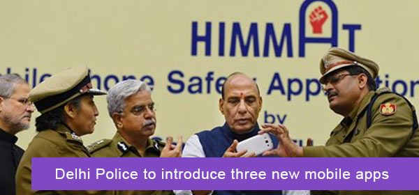 Delhi Police to introduce three new mobile apps
