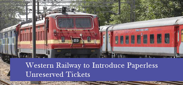 Western-Railway-to-Introduce-Paperless-Unreserved-Tickets