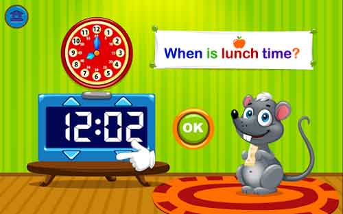 Kids Telling Time (Lite)