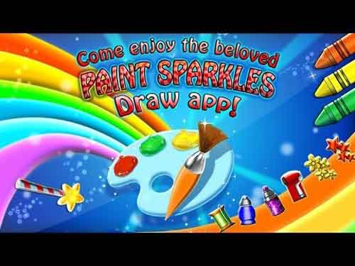 Paint Sparkles Draw - My First Coloring Book HD