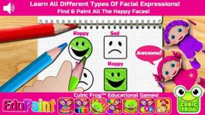 Preschool EduPaint-Free Color Book, Coloring Pages & Fun Educational Learning Games For Kids