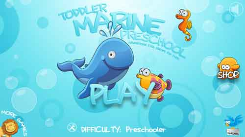 Toddler Marine Preschool - Educational Fish Games for Kids