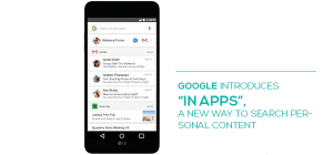 """Google Introduces """"In Apps"""", a New Way to Search Personal Content"""