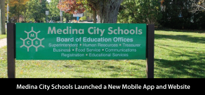 Medina City Schools Launches New Mobile App and Website!