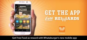 Get Free Food as Reward with Whataburger's New Mobile App!