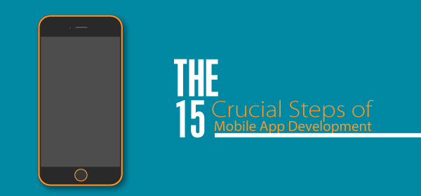 The 15 Crucial mobile app development process Steps