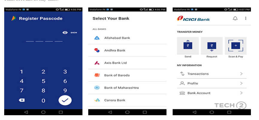 PM Modi Launched New Mobile App for Cashless Payments