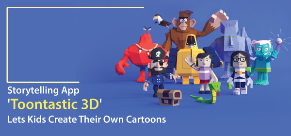 Storytelling App 'Toontastic 3D' Lets Kids Create Their Own Cartoons