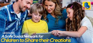 LegoLife: A Safe Social Network for Children to Share their Creations