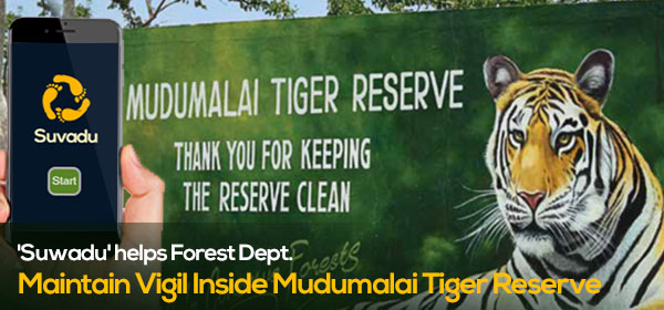'Suwadu' helps Forest Dept. Maintain Vigil Inside Mudumalai Tiger Reserve