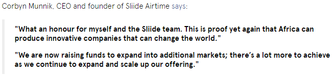 Nigerian App 'Sliide Airtime' Named as the World's Most Creative Mobile App