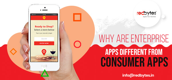 difference between enterprise apps and consumer apps