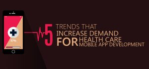 5 Trends that Increase Demand for Health Care Mobile App Development