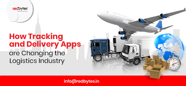 tracking and delivery apps are changing
