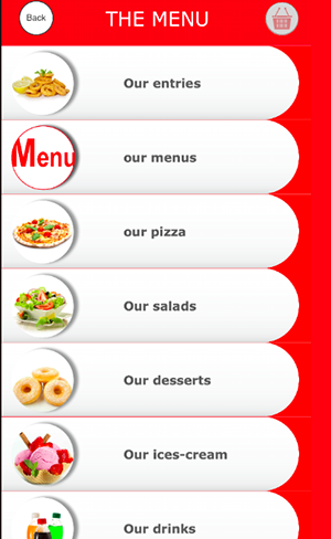 Pizza Application