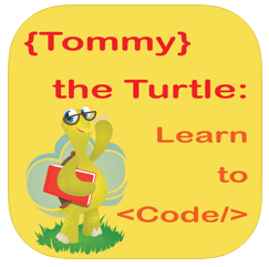 tommy the turtle - coding apps for kids