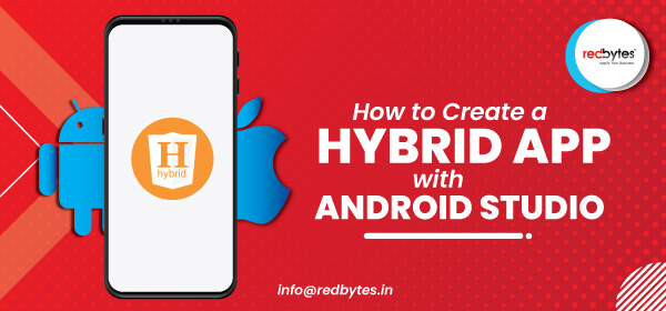 hybrid app with android studio