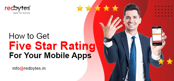 five star rating for mobile app