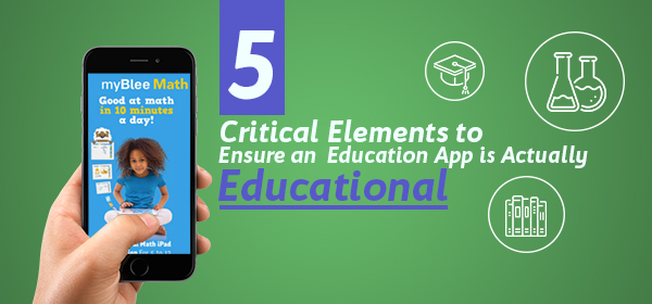 Critical Elements to Ensure an Education App