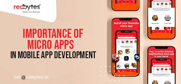 micro apps in mobile app development