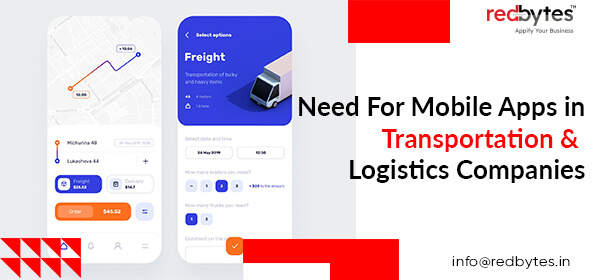 mobile apps in transportation logistics companies