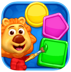 colors and shapes - toddler apps
