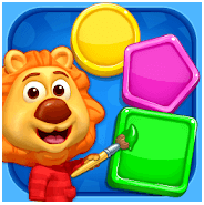 shapes and colors - free toddler apps