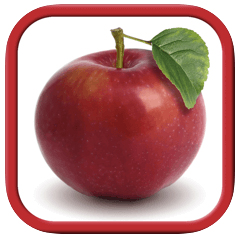 fruit and vegetables - reading apps for kids
