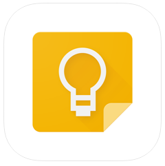 google keep - android wear apps