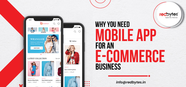 mobile app for ecommerce business
