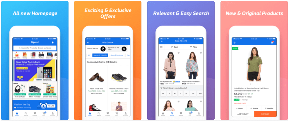 24 Best Online Shopping Apps | Redbytes Software