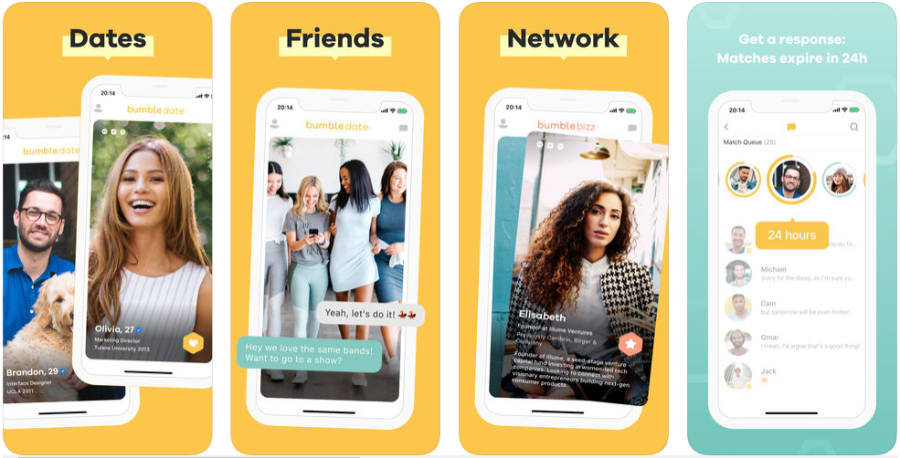 Bumble - dating apps