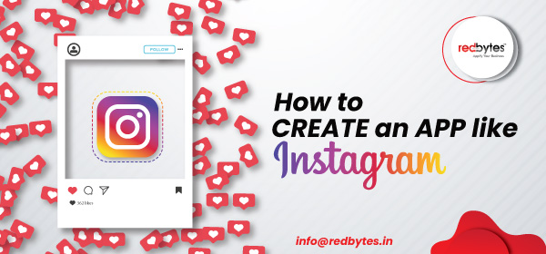 create an app like instagram