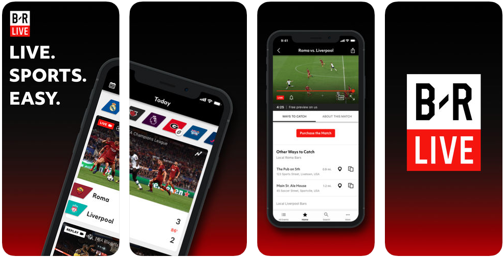 teamstream - sports apps