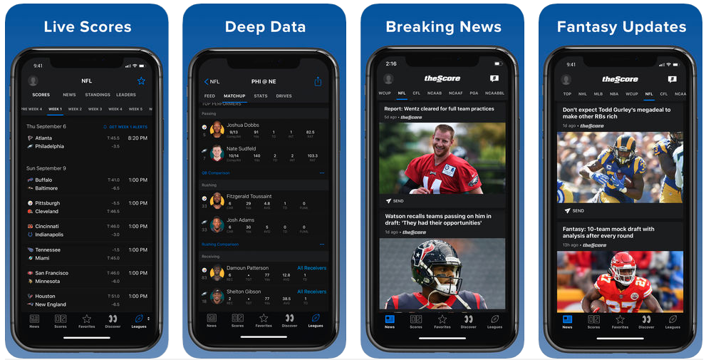 thescore - sports apps
