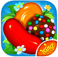 candy crush saga - most downloaded apps