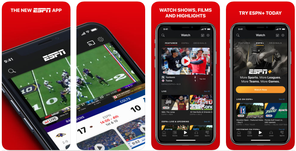espn - sports apps