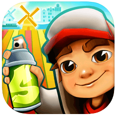 subwaysurfers - most downloaded apps