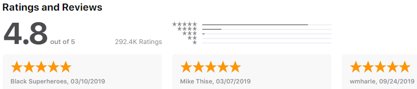 theScore rating
