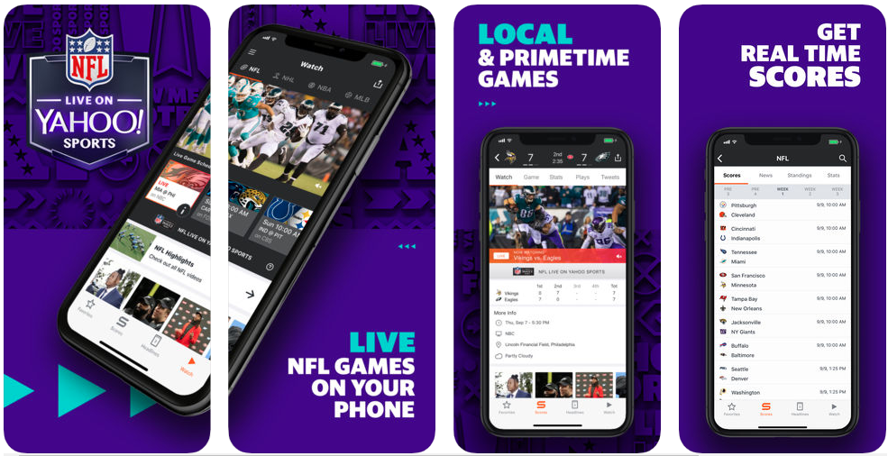 Yahoo - sports apps