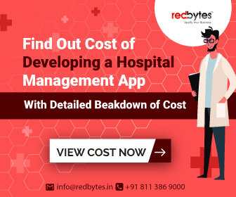 hospital management app cost