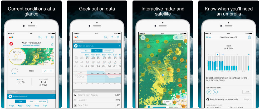13 Best Weather Apps For Android & iOS | Redbytes