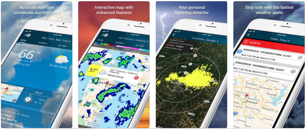 weatherbug - Redbytes: Custom Mobile Application Development