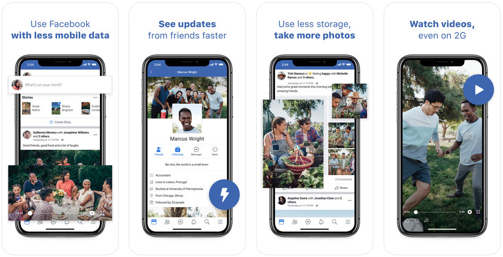 Faster for Facebook Lite