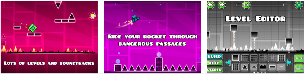 Geometry Dash games - best free online arcade games