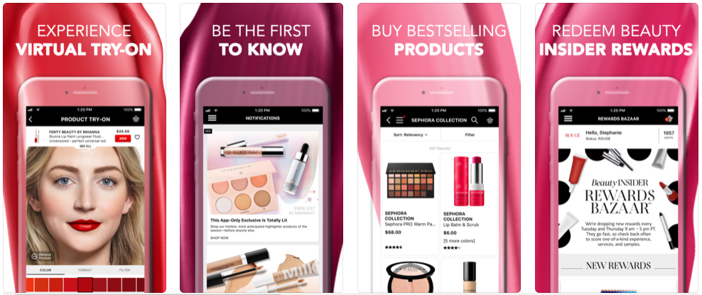 Sephora - beauty app