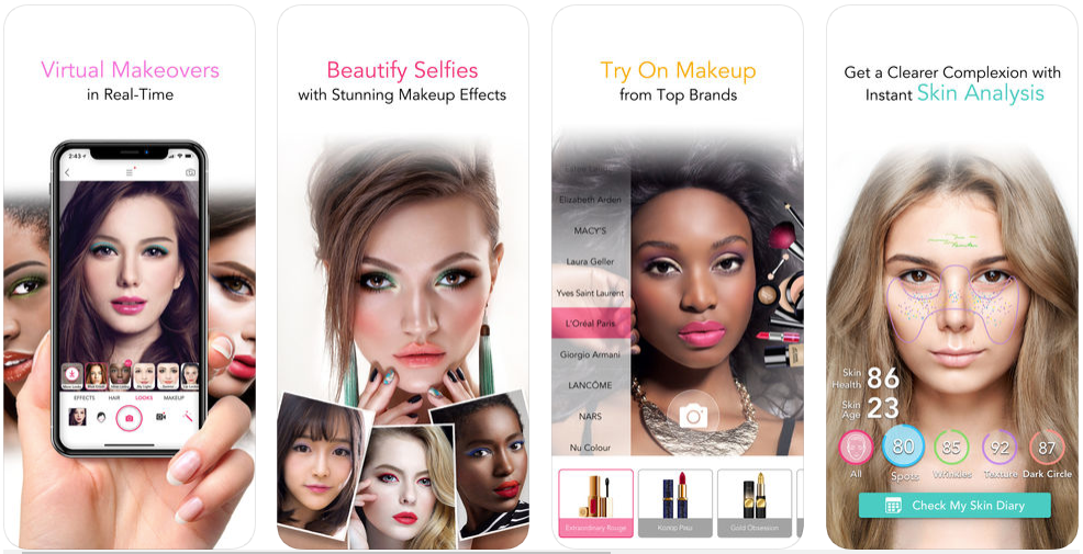 YouCam Makeup - beauty app