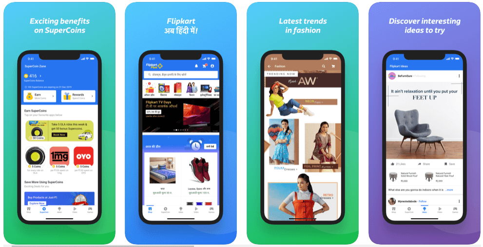flipkart app features