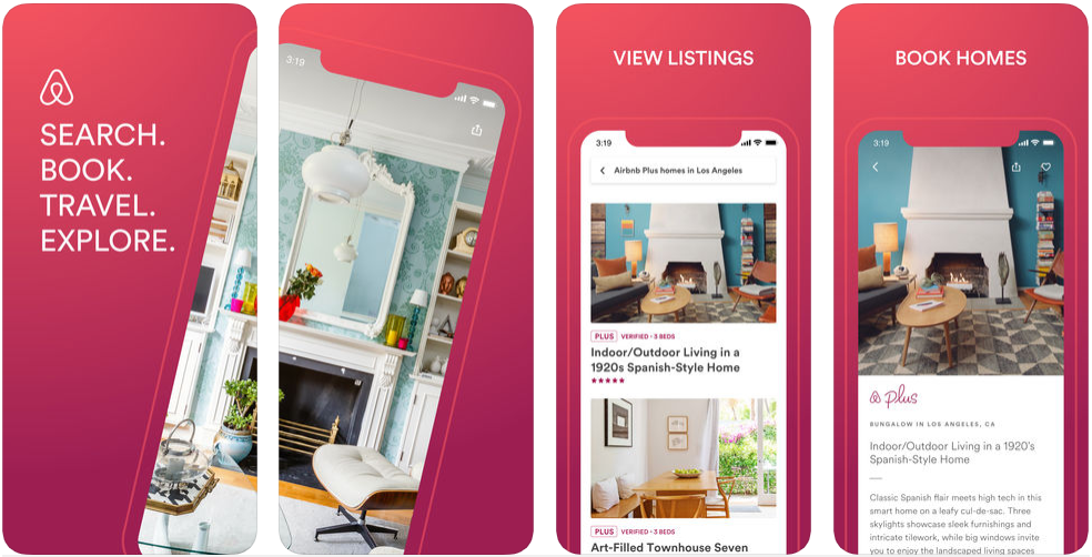 Airbnb - react native app