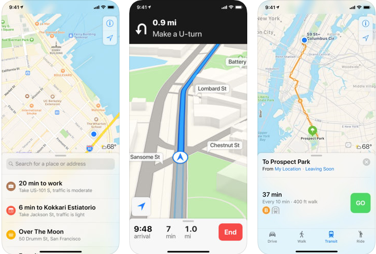 Apple Maps - navigation apps